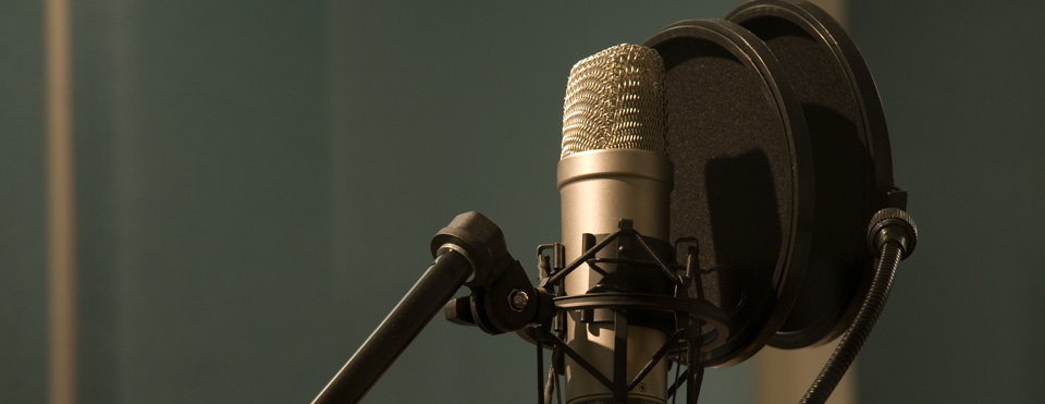 Audio Voice Recording Studio