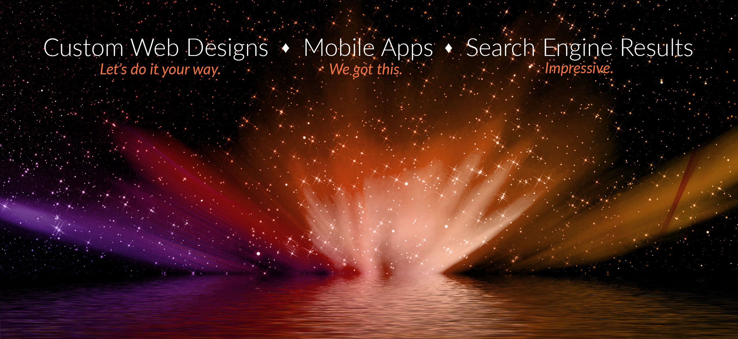 Custom Web Designs, Mobile Apps, SEO Results