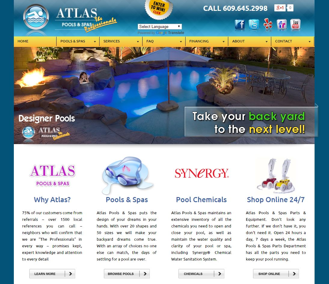 custom designed corporate websites